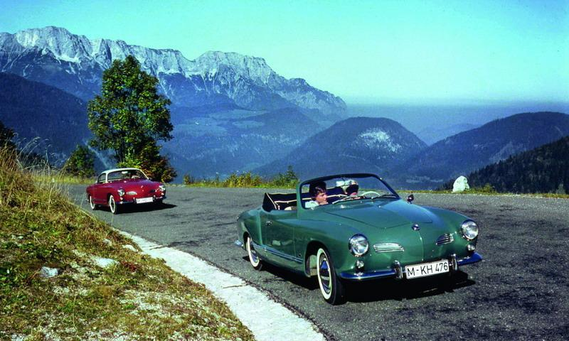 60 Jahre Volkswagen Karmann Ghia