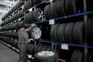 Shranjevanje pnevmatik