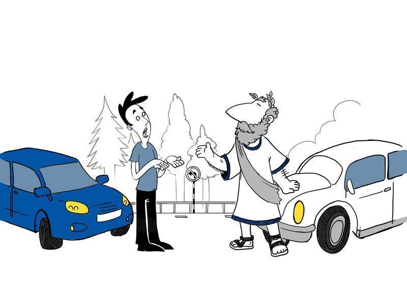 Filozof skuša razumsko pojasniti ravnanja drugih, svoja čustva pa med vožnjo uspešno nadzira.
